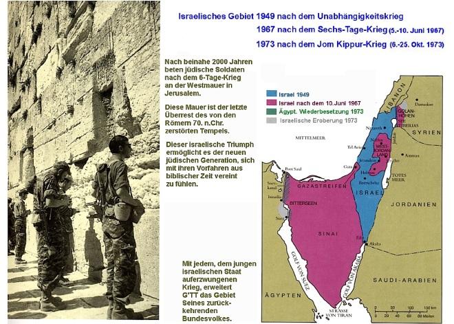 Israel nach 1949 : 1967 : 1973
