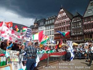 Frankfurt - Römer 31. Ausguat 2014