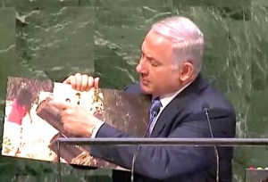 Netanyahu-UN-2014-Children-rockets-1