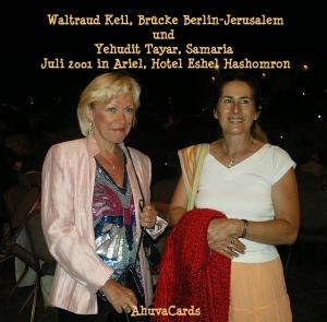 Waltraud Keil und Yehudit Tayar 7-2001