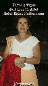 Yehudit Tayar Ariel 2001