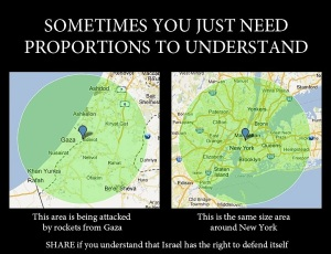 Area of Rockets from Gaza - Israel nationalNews