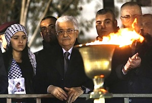 The Palestinian president, Mahmoud Abbas, marked 50 years of the Fatah movement on Wednesday in Ramallah, West Bank. Credit Abbas Momani/Agence France-Presse — Getty Images