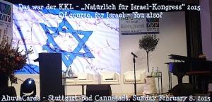 KKL-Kongress 8. Februar 2015 %22Natürlich für Israel-Kongress%22
