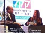 KKL-Kongress 8. Februar 2015 - Ilanit Spinner im Interview mit generalkonsul des Staates Israel Dr. Dan Shaham