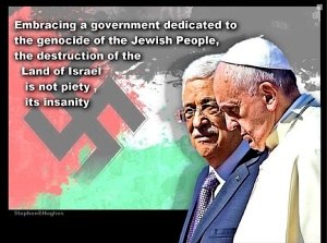 Mahmud Abbas an %22Angel of Peace%22 so called by Pope Francis