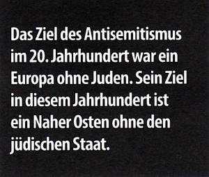 Ziel des Antisemitismus