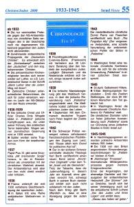 1933 - 1945 Israel-Chronologie  Teil 17