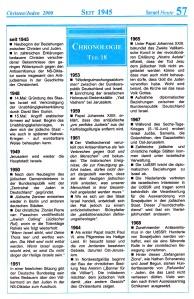 Seit 1945 Israel-Chronologie  Teil 18