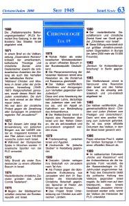 Seit 1945 Israel-Chronologie  Teil 19