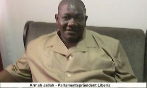 Armah Jallah- Liberia- Parlamentspräsident
