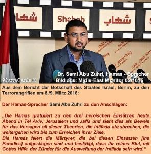Hamas-Sprrcher Sami Abu Zuhri