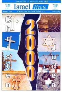"""Titelbild einer Sonderausgabe von """"Christen an der Seite Israel 2000"""
