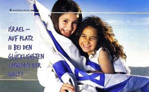 Glückliche Israelis