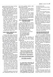 Das Neue Testament warnt vor der Ersatztheologie -2