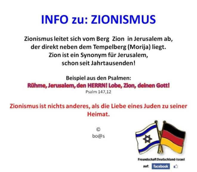 Herkunft-Zionismus